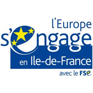 logo l'europe s'engage en ile de france