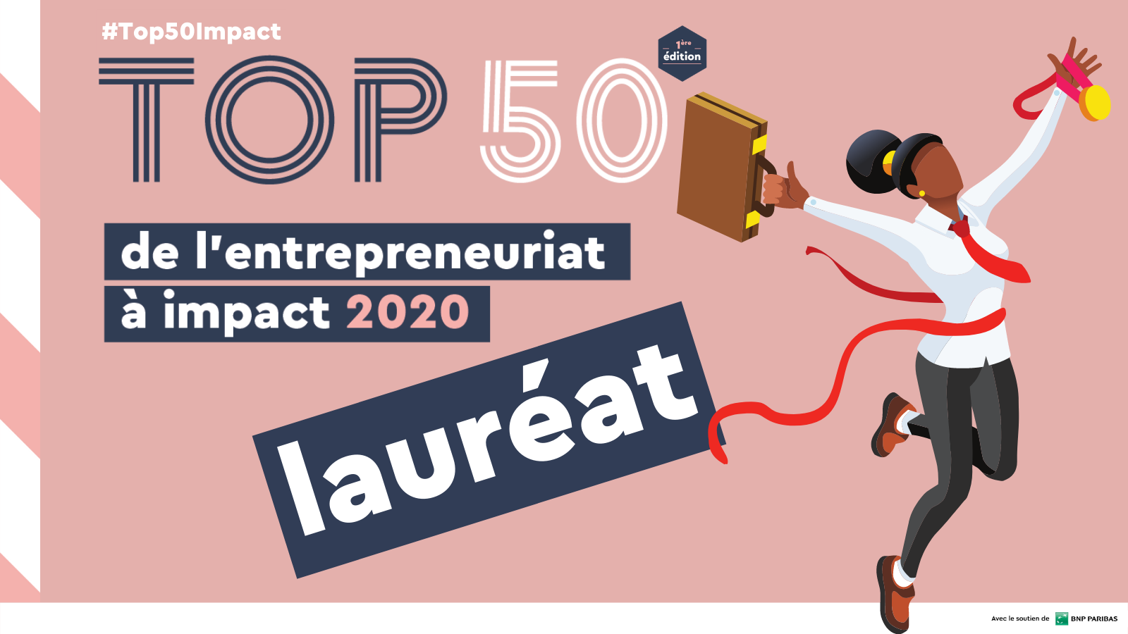 Simplon lauréat du top 50 de l'entrepreunariat